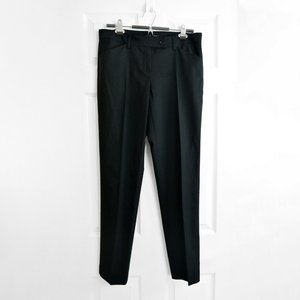"Theory Dress Pants Sz 8 / 28"" Black Wool"
